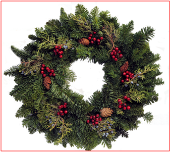 Juniper Wreath